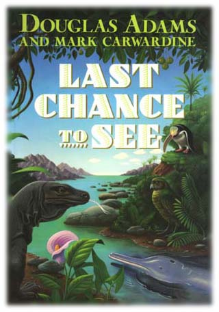 Image result for Last Chance to See cover